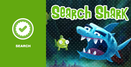 Search Shark logo